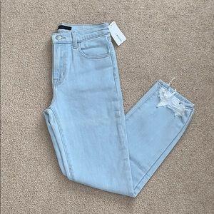 J Brand // Light Wash Crop Jeans 25 NWT
